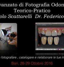 Corso avanzato fotografia odontoiatrica a Bari 2016.10.28